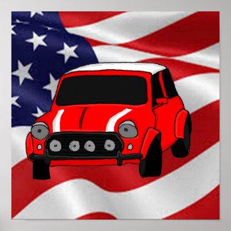 Kalla bildesignkort och pappra produkter poster