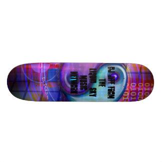 kalla bönor, Dj Jeff från den Liquid_Sky musiken N Skateboard Bräda 21,5 Cm