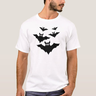 Kalla gulliga Halloween fladdermöss T Shirts