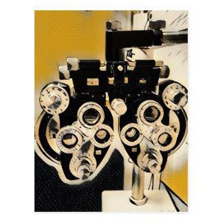 Kalla moderna optometrikerPhoroptor linser Vykort