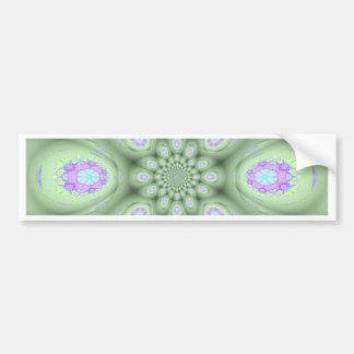 Kalla moderna Petals för gröntabstraktlavendel Bildekal