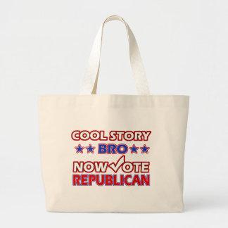 Kalla republikanskaa partitdesigner tygkasse