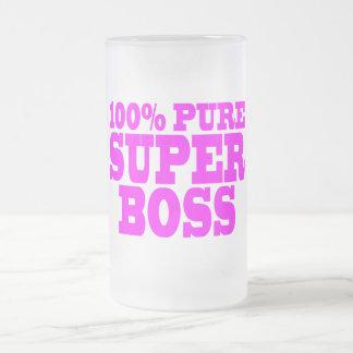 Kalla rosa gåvor för chefer: 100% rena toppna chef kaffe kopp