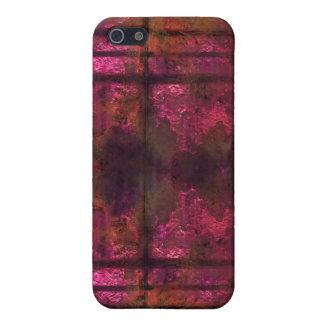 Kalla rostiga metalliPhonerosor 2 iPhone 5 Fodraler