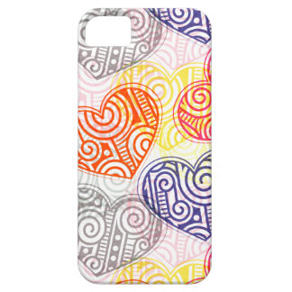 Kalla skraj hjärtor iPhone 5 Case-Mate fodral