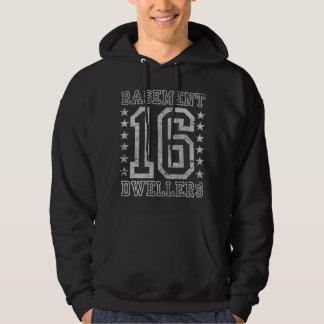 Källareinvånareval 2016 sweatshirt med luva
