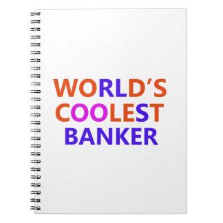 kallast bankir anteckningsbok