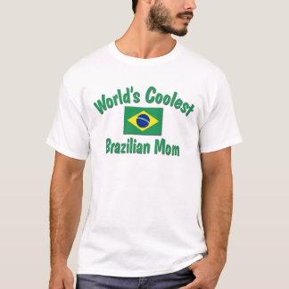 Kallast brasiliansk mamma t-shirts
