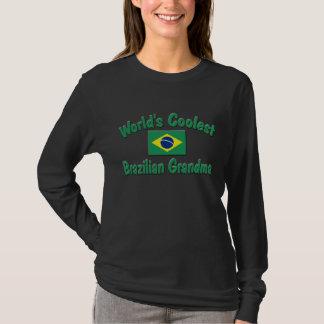 Kallast brasiliansk mormor tshirts