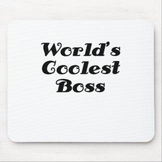 Kallast chef för världar musmattor