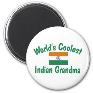 Kallast indisk mormor magnet