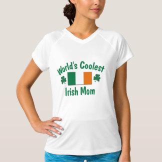 Kallast irländsk mamma t-shirts