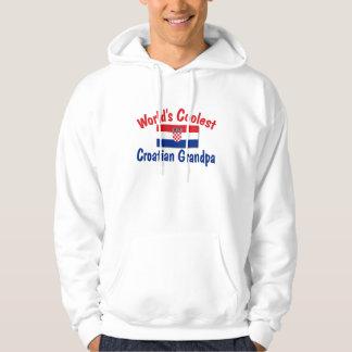 Kallast kroatisk morfar sweatshirt med luva