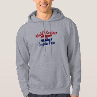 Kallast kroatisk pappa sweatshirt