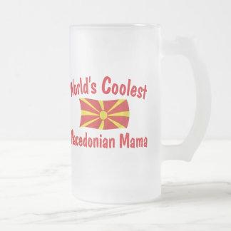 Kallast Macedonian mammor Frostat Ölglas
