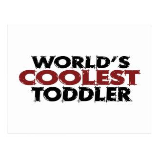 Kallast småbarn för världar vykort