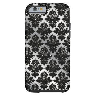 Kallt damastast fodral för glitteriPhone 6 Tough iPhone 6 Fodral