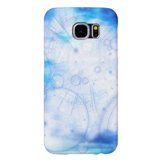 Kallt fodral för blått- och vitSamsung galax Galaxy S5 Fodral