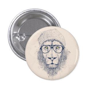 Kallt lejont knappar med nål