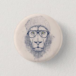 Kallt lejont mini knapp rund 3.2 cm