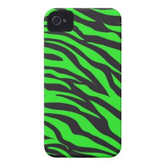 Kallt moderiktigt mönster för zebra ränder för Case-Mate iPhone 4 fodral