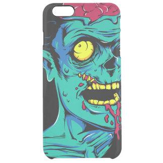 Kallt och roligt genomskinligt Zombiefasaansikte - Clear iPhone 6 Plus Skal