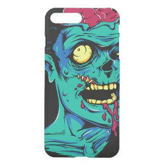 Kallt och roligt genomskinligt Zombiefasaansikte - iPhone 7 Plus Skal