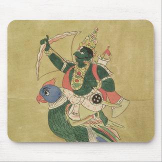 Kama gud av kärlek, 18th-19th århundrade musmatta