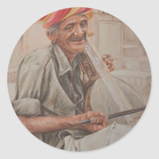 Kamaycha spelare, Jaisalmer Runt Klistermärke