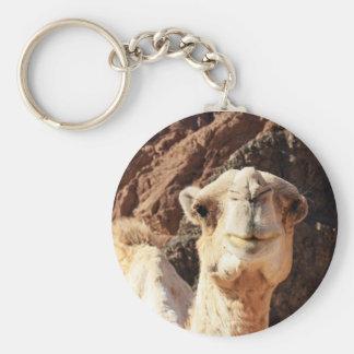 Kamel Keychain Rund Nyckelring