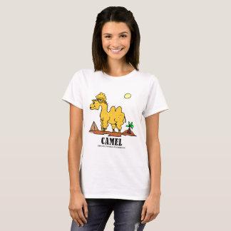 Kamel vid Lorenzo kvinna T-tröja T Shirts