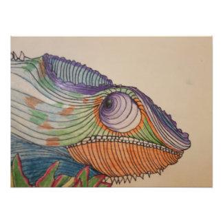Kameleont Fototryck