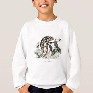 Kameleonter för ödla för vintage1800skameleont t shirt