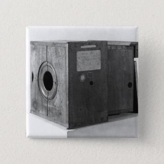 Kamera av Joseph Nicephore Niepce, c.1816-22 Standard Kanpp Fyrkantig 5.1 Cm