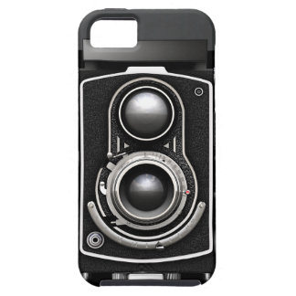 Kamera för vintage TLR iPhone 5 Skal