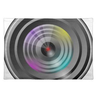 Kamera Lens Bordstablett