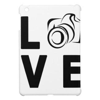 kamera och kärlek iPad mini skal