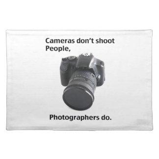 Kameror skjuter inte folk bordstablett