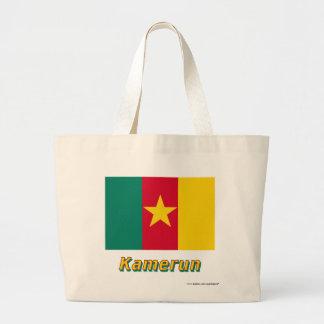 Kamerun Flagge mit Namen Kassar