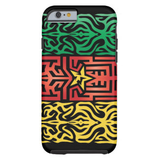 Kamerunabstrakt Tough iPhone 6 Fodral