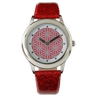 Kamishimo prack det röda traditionella japanska armbandsur