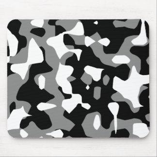 Kamouflage för grått för Corey tiger80-tal Retro Musmatta