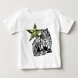 Kamouflage för Kris Alan Grizzlybjörn Tröjor