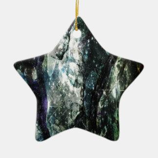 Kamouflage vid design julgransprydnad keramik