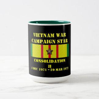 Kampanj för befästning II Två-Tonad Mugg