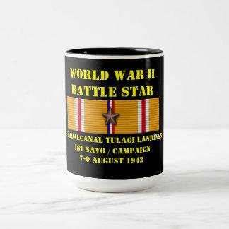 Kampanj för Guadalcanal Tulagi landningar 1st Sav Kaffe Kopp