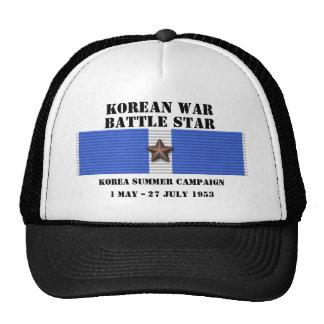 Kampanj för Korea sommar 1953 Baseball Hat
