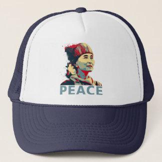 KÄMPEN - Aung San Suu Kyi |Custom truckerkeps