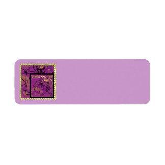 KAMPSPORTadressetiketter Returadress Etikett