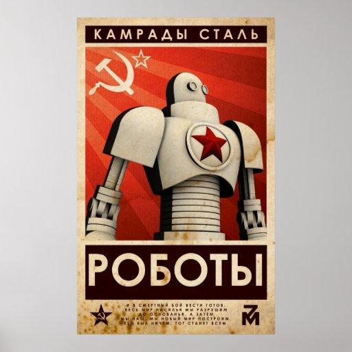 Kamrater av stålsätter affisch